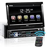 BOSS Audio Systems BV9979B Car DVD Player - Single Din, Bluetooth Audio & Hands-Free Calling, Multi-color Illumination, DVD, CD, MP3, USB, SD Aux-in, AM/FM Radio Receiver, 7 Inch LCD Touchscreen