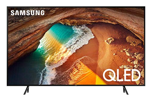 Samsung QN75Q60RAFXZA Flat 75' QLED 4K Q60 Series (2019) Ultra HD Smart TV with HDR and Alexa Compatibility