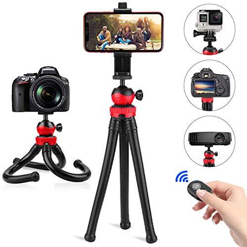 Trépied Smartphone Flexible,PEYOU Mini Portable Gorillapod Octopus...