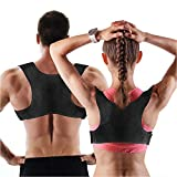 Posture Corrector for Men and Women | Discreet Under Clothes Comfortable and Effective Clavicle...
