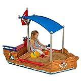 KidKraft 128 Piratenschiff Sandkasten aus Holz Gartenmöbel für Kinder - 2