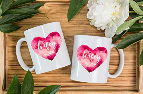 Personalised Same Sex Lesbian Couples Wifey Mugs Wedding...