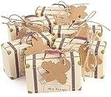 mciskin Lot de 60 pièces de mini-valise - idée cadeaux à offrir aux...