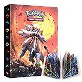UHIPPO Album Compatible with Pokemon GX Cards, Trading Cards Holder Binder, Card Album Floder Binder...