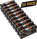 20 Pack AA Batteries [Ultra Power] Premium LR6 Alkaline Battery 1.5 Volt Non Rechargeable Batteries for Watches Clocks Remotes Games Controllers Toys [Exp. 2028]