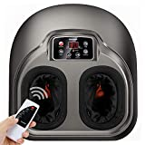 Arealer Foot Massager Machine with Heat, Shiatsu Foot Massagers with...