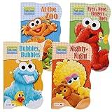 Sesame Street Beginnings Board Book - Set of 4