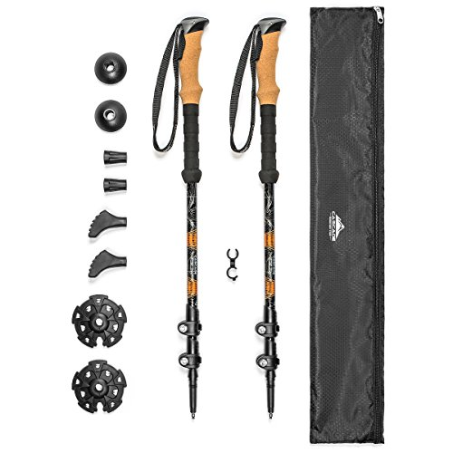 Cascade Mountain Tech Adjustable Trekking Poles