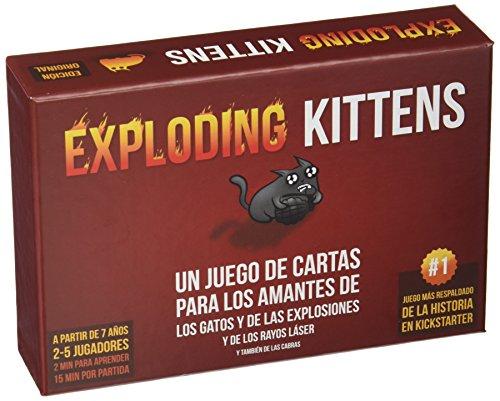 Exploding Kittens–Set di Carte, ekek0001