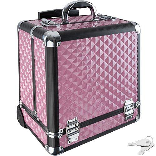 TecTake Valigia Beauty Case Cofanetto Make Up Trolley Bagaglio a mano Valigia Nail Art - disponibile...