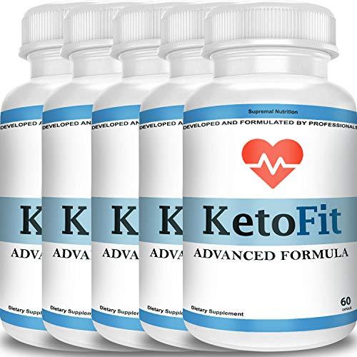 Ketofit Advanced Formula Pills - Go BHB Ketones - Burn Stubborn Fat - Enhanced Energy & Focus - Suppress Appetite - Ketosis Booster (5 Month Supply) 1