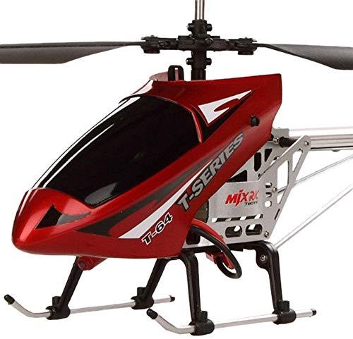 Mnjin Elicottero RC 2.4 GHz 3.5 Canali Anti-Collisione Telecomando Aircraft Radiocomando Drone Giocattolo Volante con giroscopio e Illuminazione a LED per Giocattolo di stabilit Extra