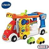VTech - Tut Tut Bolides - Super camion piste zig-zag - Piste de course + 2 mini...