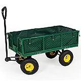 TecTake Chariot de Transport Charrette à bras - diverses tailles au choix -...