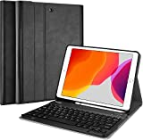 ProCase New iPad 10.2 8th 7th Generation 2020 2019 Keyboard Case, Slim Leather Folio Smart Cover...