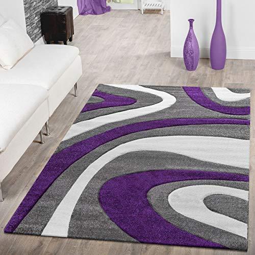 T&T Design - Morbido tappeto moderno a pelo corto per soggiorno camera da letto sala da pranzo...