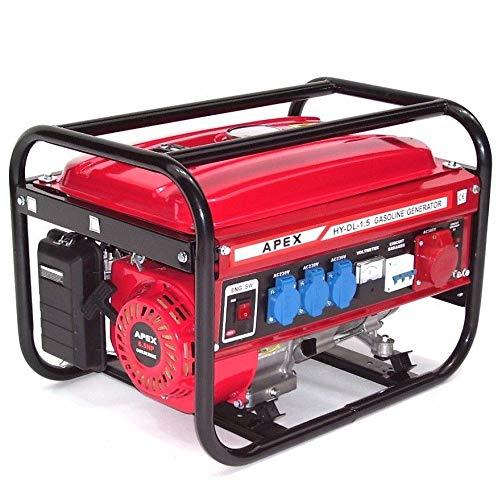 Stromerzeuger SK9500 Benzin Generator 06265 Notstrom Strom 230V 400V Aggregat AWZ