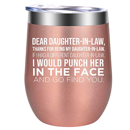 Daughter in Law Gift Ideas - Dear Daughter in Law Mug -...