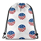NotApplicable Drawstring Bags Arkansas Matrícula Grafi (por Grafi Muscle) Regalos Casuales Bolsas De Cincho Deportes Al Aire Libre Casuales Mochila con Cordón Hombres Mujeres Cumpleaños Duradero