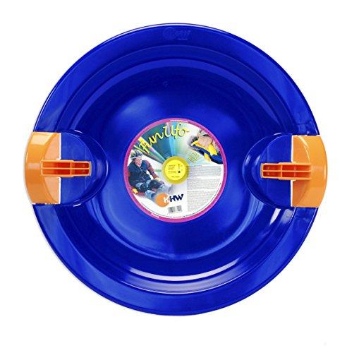 KHW Fun UFO Rutschteller, Eisblau, 66 x 65 x 7 cm