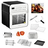 GoWISE USA GW44804 Air Fryer Toaster Oven with Rotisserie + Dehydrator...