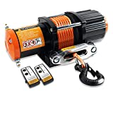 ORCISH 12V 4500lb Electric ATV UTV Synthetic Rope Winch Kits (Synthetic Rope Style)
