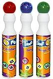 Smiffys Tampon bingo, couleurs assorties, 43ml