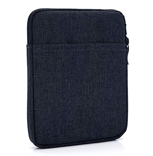 MyGadget Borsa Sleeve Nylon 6' - Case Protettiva per E-Reader/Smartphone - Custodia per Kindle Paperwhite/Voyage/Oasis/Kobo - Blu Scuro