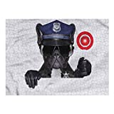Nomorer Puzzle Games 1000 Piece, Police Puzzles for Adults Pug Dog Police Costume, Party Games