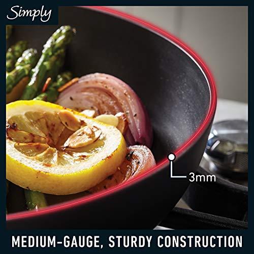 Product Image 4: Calphalon Simply Pots and Pans Set, 10 Piece Cookware Set, Nonstick