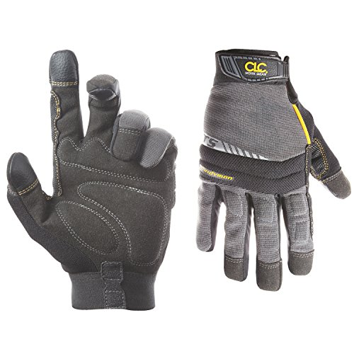 CLC Custom Leathercraft 125M Handyman Flex Grip Work Gloves, Shrink...