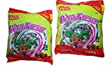 VERO Mexican Candy, Clear, Pica Fresa Chili Strawberry Flavor Gummy, (Pack Of 2)