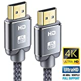 Câble HDMI 4K 0.9m - Snowkids Câble HDMI 2.0 High Speed par Ethernet en...