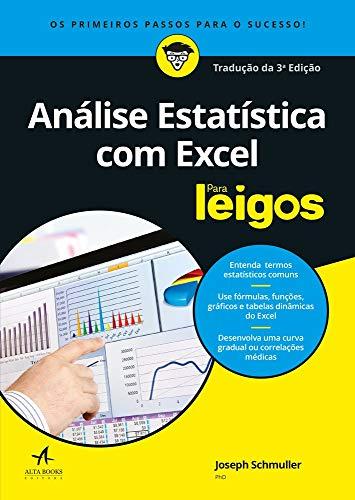 Análise Estatística com Excel Para Leigos