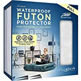 Ultra Plush 100% Waterproof Premium Mattress Protector, Luxuriously Soft and Comfortable, Protects Against Dust Mites and Allergens, Snug, Fitted Fit for Full Size Futon Mattresses Up to 12' Thick