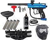 Action Village Kingman Spyder Epic Paintball Gun Package Kit (Victor) (Blue)