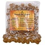 Caramelos de jengibre con miel y limón, sin azúcar