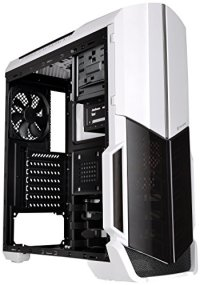 Thermaltake Versa N21 Snow Edition Translucent Window Panel SPCC ATX Mid Tower Computer Chassis CA-1D9-00M6WN-00