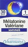 VITARMONYL Mélatonine Valériane Complément Alimentaire 30 gélules (10.5g)