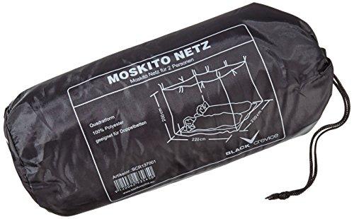 Black Crevice Moskitonetz, weiß, One size