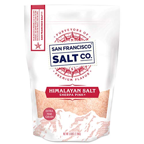 Sherpa Pink Gourmet Himalayan Salt - 5 lbs. Extra-Fine Grain