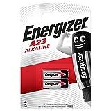Energizer A23 Piles Alcalines, 12V, Lot de 2