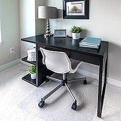"""1. Floortex Polycarbonate Chair Mat 60"""" x 48 for Plush Pile Carpets"""