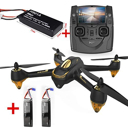 Hubsan X4 H501S Standard Black with 2 Battery