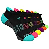 Eallco Womens Ankle Socks 6 Pairs Running Athletic Cushioned Sole Socks With Tab
