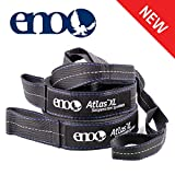 ENO - Eagles Nest Outfitters Atlas XL Hammock Straps Suspension System with Storage Bag, 400 LB Capacity, 13'6' x 1.5/.75'