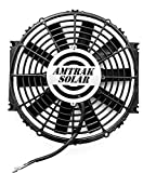 Amtrak Solar Powerful Attic Exhaust Fan Quietly Cools your House Ventilates your house, garage or RV and protects against moisture build-up (12' Fan Only)
