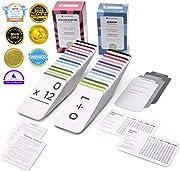 Think Tank Scholar 335 multiplikation und Division Flash Cards | alle fakten 0-12 | am besten für Kinder in der 3., 4., 5. und 6. klasse