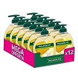 Palmolive Detergente Liquido Per Le Mani Senza Sapone Latte e Miele, Pulizia e Cura Per Le Tue Mani, 12 Flaconi Da 300 ml