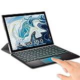 Tablet 10 Pulgadas Android 10.0 6GB de RAM 64GB de ROM | SD 512GB, Tableta 5G WiFi 4G LTE Ultrar-Rápido Tablet PC Baratas y Buenas Quad-Core 1920 * 1200 | OTG| GPS | Type-C | con Teclado (Plata)